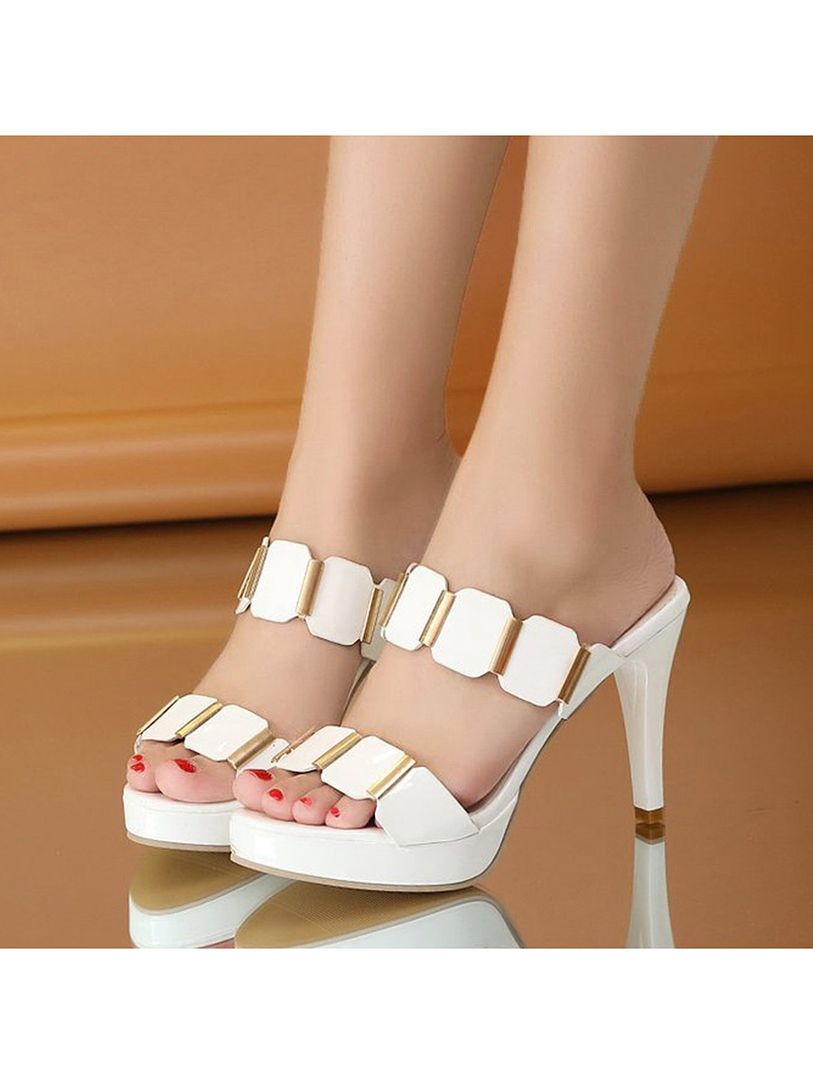 Short Heel Sandals Trophy Wife Fashions