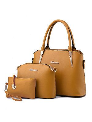 Berrylook coupon: Three Pieces Classic Shell Bag Shoulder Bag