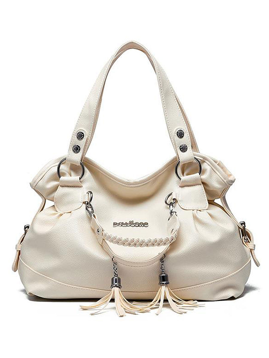 BerryLook Decortive Metal Plain Hand Bags For Women