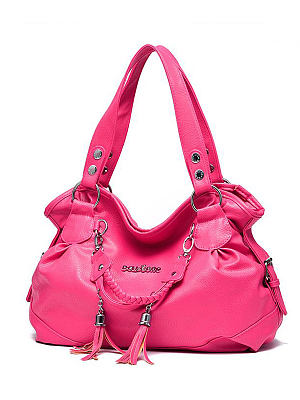 Decortive Metal Plain Hand Bags For Women