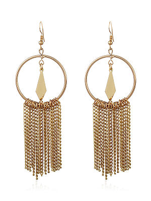 Berrylook coupon: New Style Chic Fringe Long Earrings