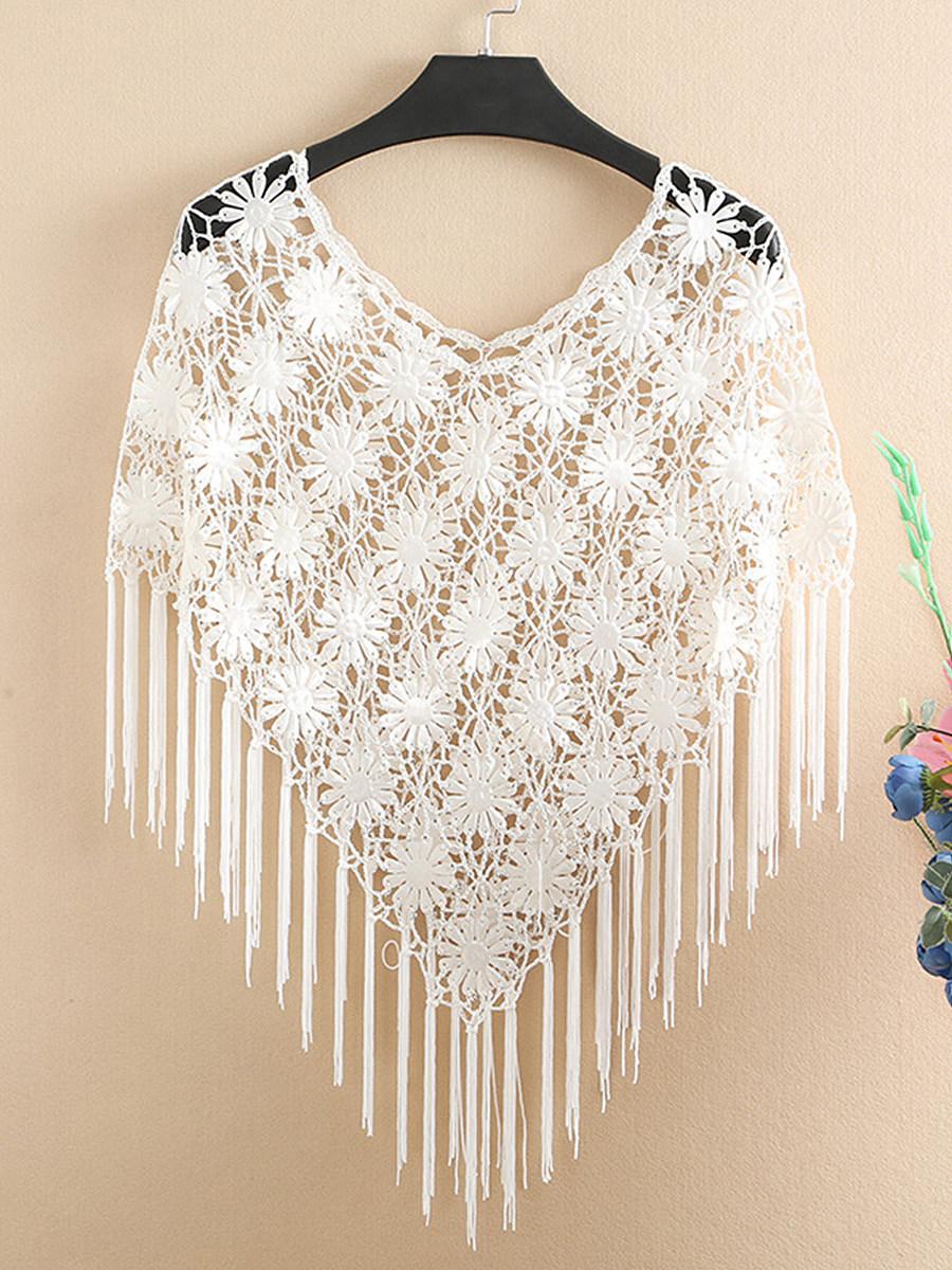 Fringe  Embroidery Tunic