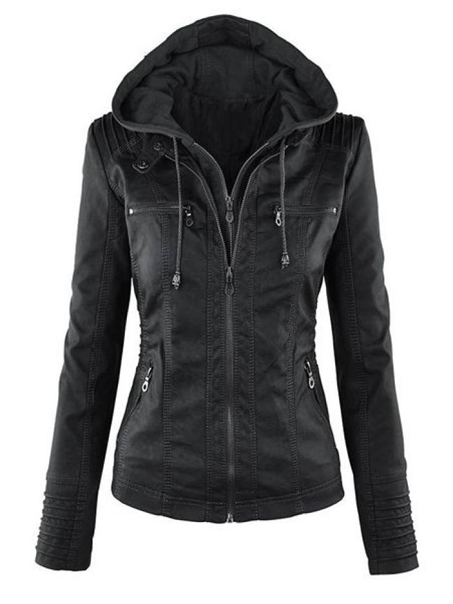 BerryLook Patchwork Brilliant Hooded Jackets
