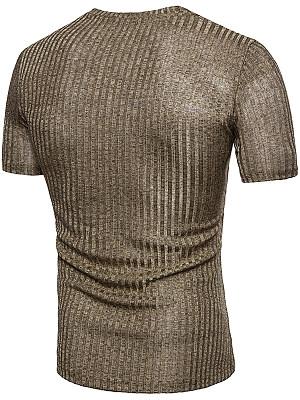 Striped  Short Sleeve Short Sleeves T-Shirts