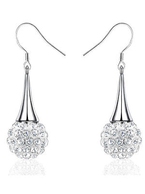Berrylook coupon: Faux Crytsal Luxury Women  Earrings