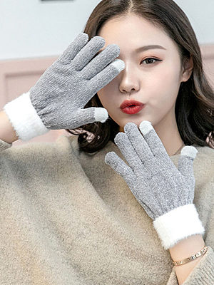 Outdoors Soft Thick Gloves фото