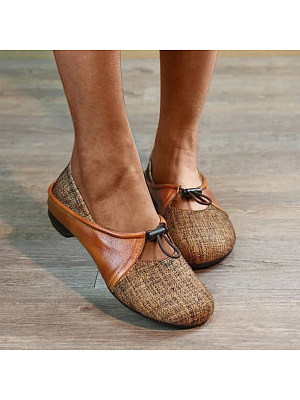 Flat Round Toe Casual Flat & Loafers, 8349673