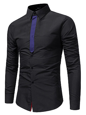 Designed Men Turn Down Collar Shirts фото