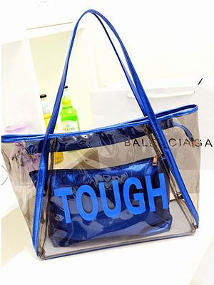 New Style PVC Material Women Shoulder Bags
