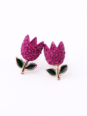 Roes Rhinestone Earrings