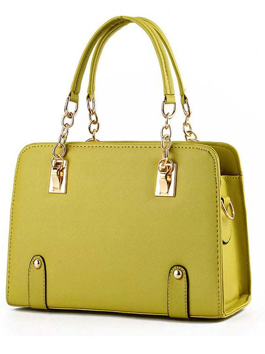 BerryLook Plain Luxury Hand Bags For Women
