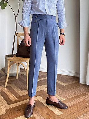 Gentleman Elegant And Comfortable Mens Trousers