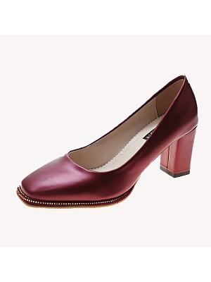 BERRYLOOK / Women's Fashion Block Heel Shoes