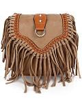 Fashion Wild Tassel Small Square Bag