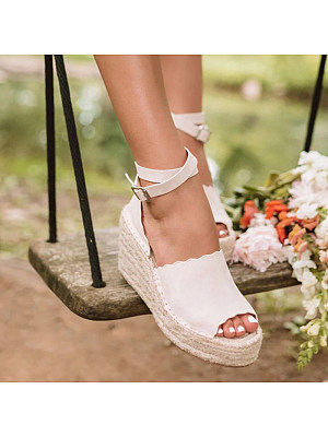 European and American fashion comfortable wedge sandals, 11175783