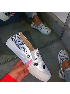 Women's fashion casual sneakers фото