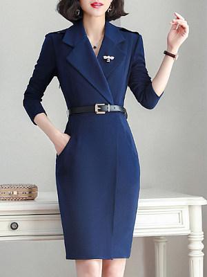 V Neck Plaid Bodycon Dress, 10072123