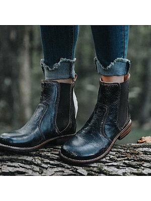 Women's Retro And Versatile Martens Boot
