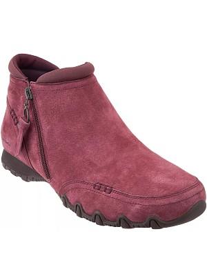 BERRYLOOK Women's Side Zipper Short Boots