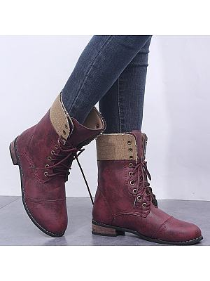 Lace-Up, Two Pair Of Vintage Martens