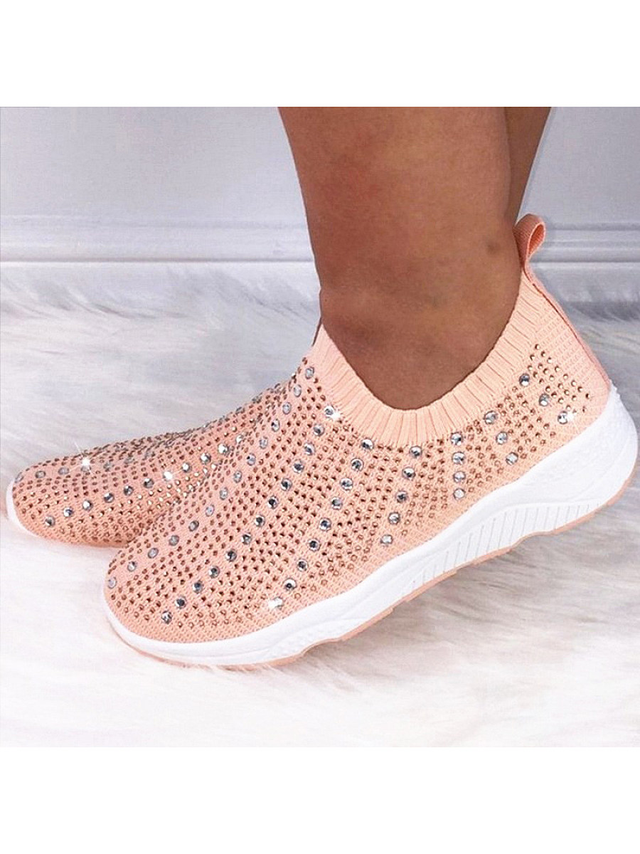 Flying woven fashion casual sneakers