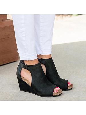 Stylish comfortable wedge sandals, 23519306