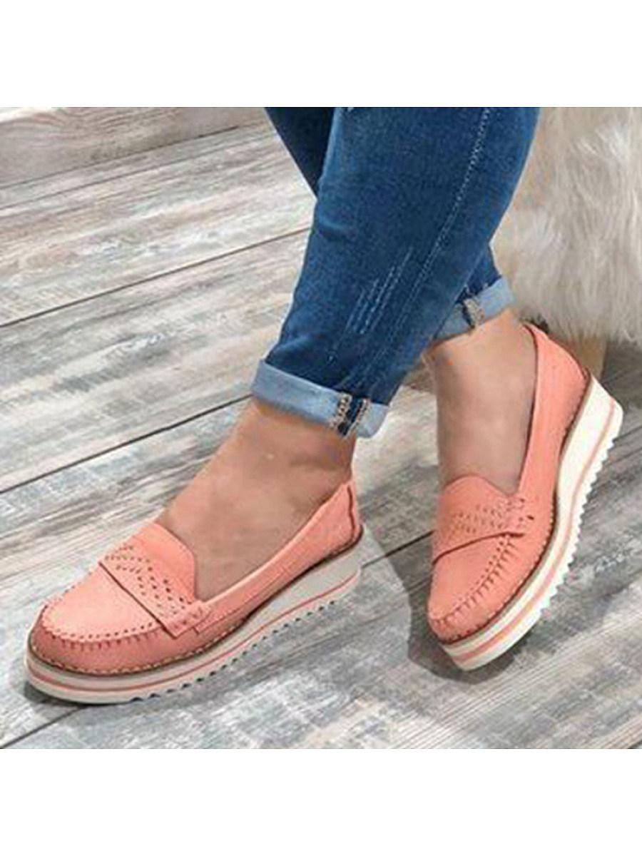 BerryLook Women's fashion comfortable platform sole shoes