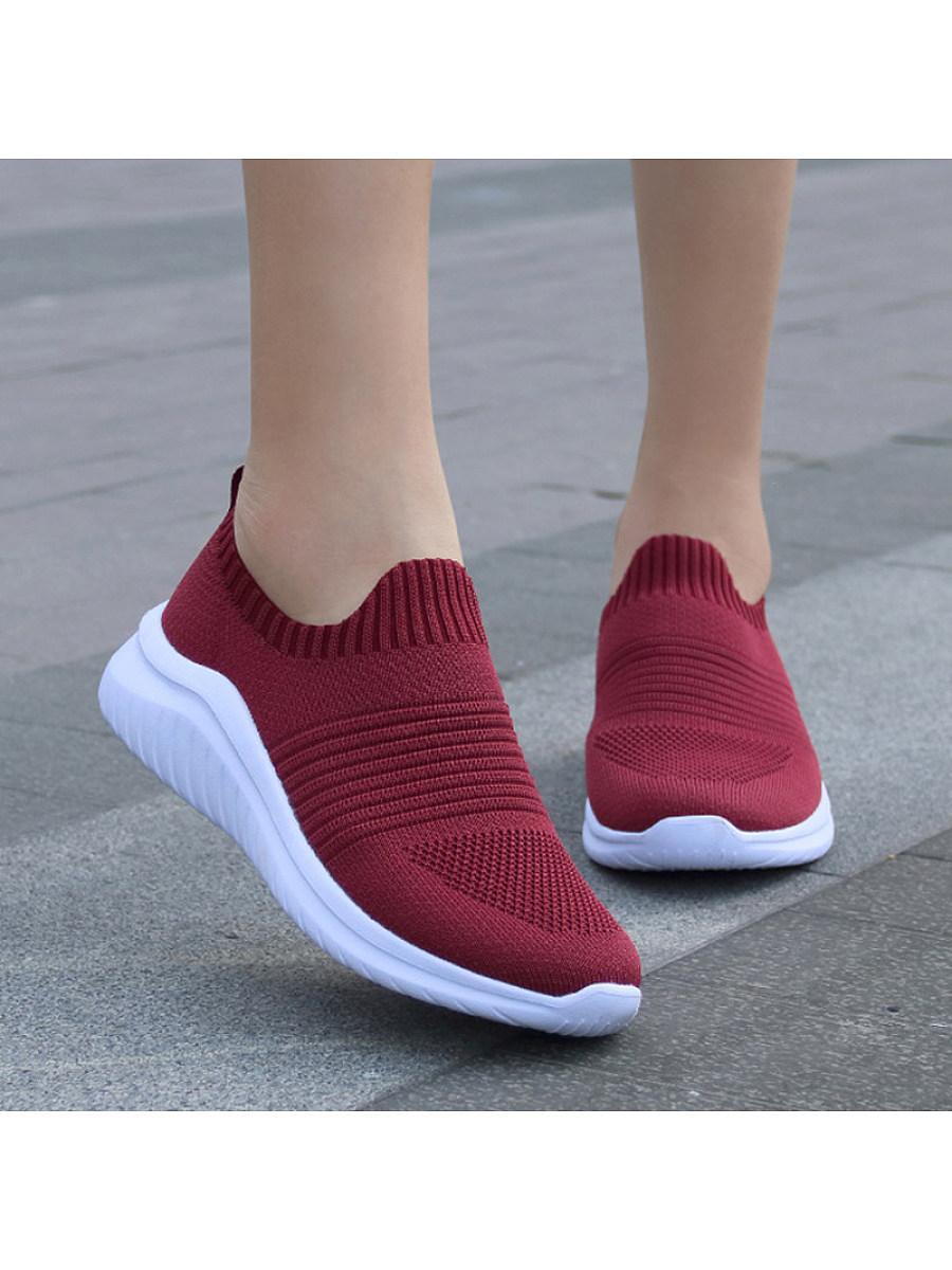 BerryLook Women's non-slip platform casual sneakers