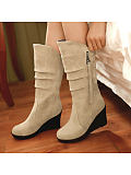 Image of Fashion fringed frosted boots