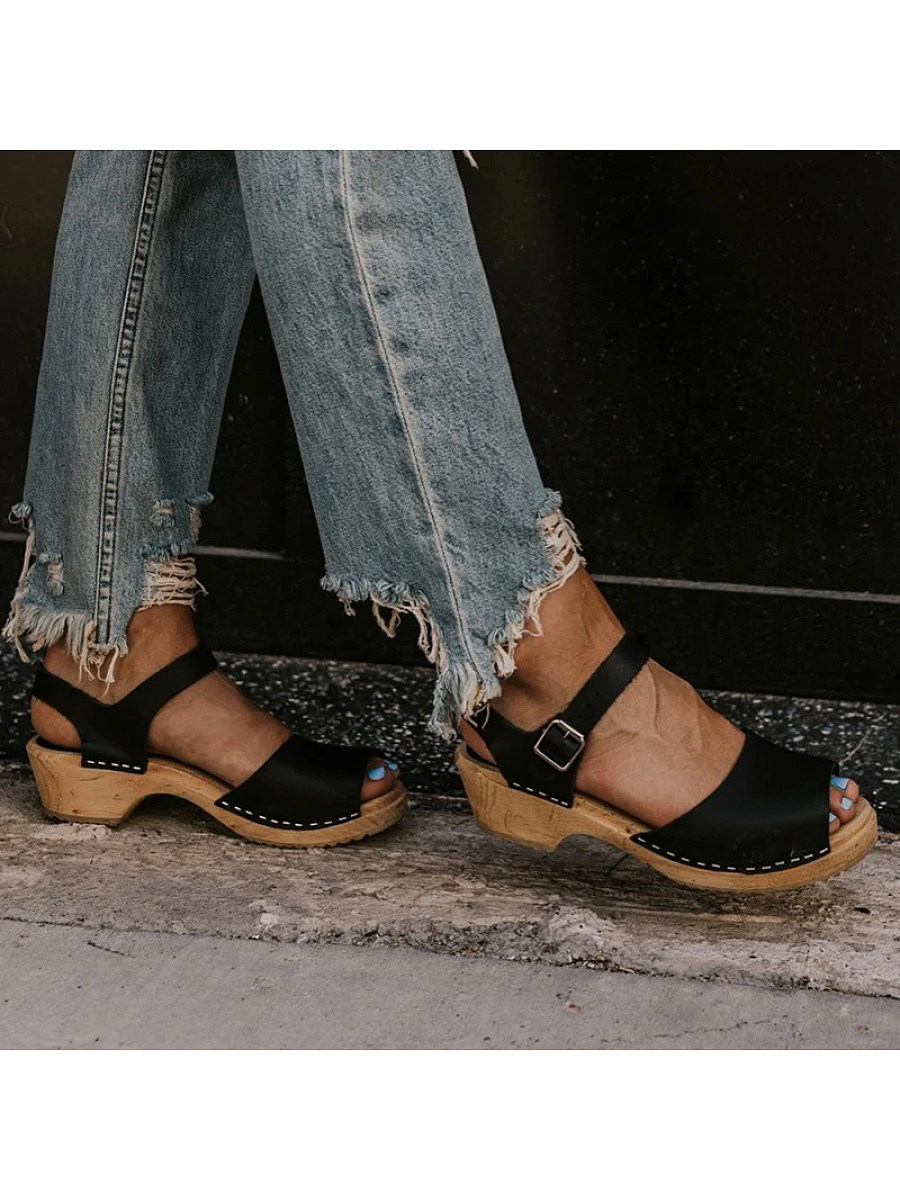 BerryLook Women's  comfortable platform sandals