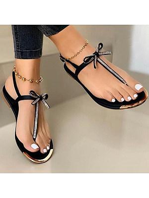 Women's toe Rhinestone Sandals, 23877490