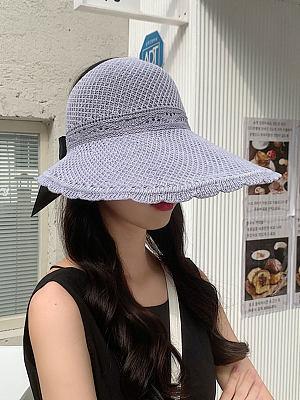 Outdoor sun protection big edge sun hat