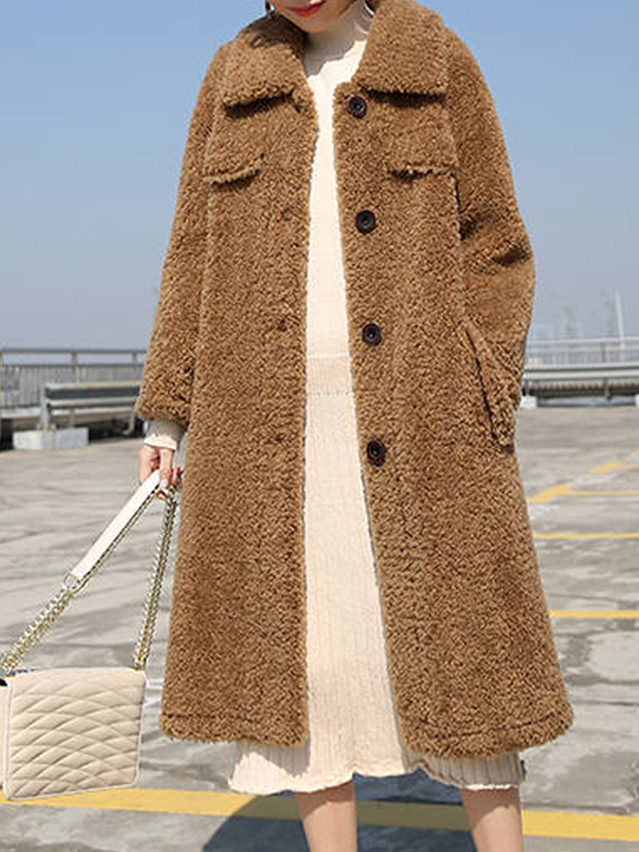 Long loose temperament coat - from $39.95