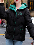 Image of Hooded Down Padded Jacket