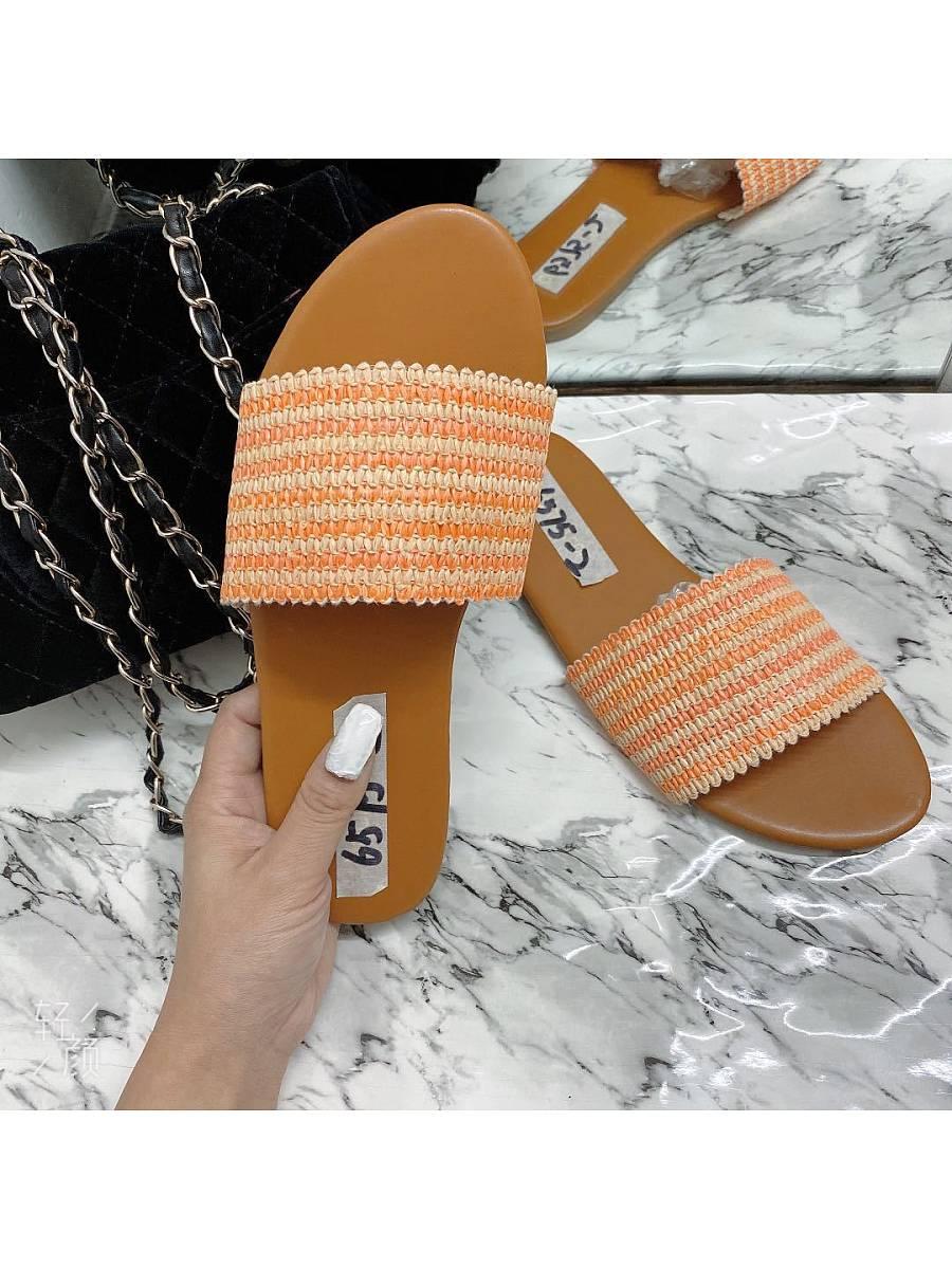 BerryLook Flat bottom casual women's outdoor slippers