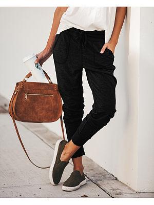 Women Plain Casual Pants фото