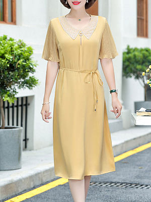 Berrylook Age-reducing waist belt slimming dress clothing stores, sale, tunic dress, floral maxi dress