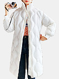 Image of Women'S Cotton Jacket Mid-Length