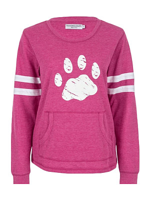 Fashion Colorblock Print Sweatshirt, 11402179