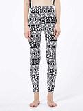 Image of Fashion high waist slim printed leggings