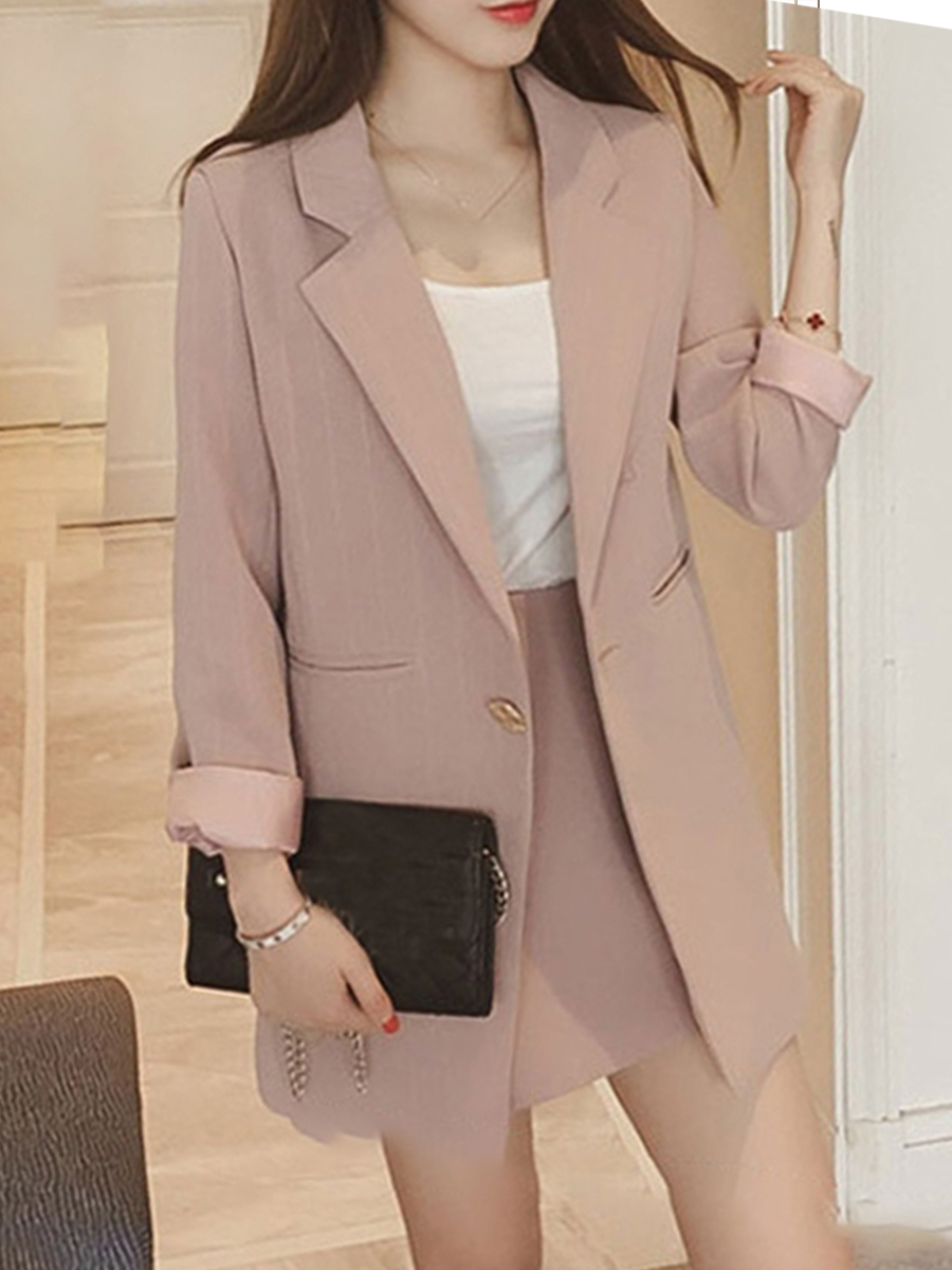 Women's British fashion casual small suit jacket foreign coat