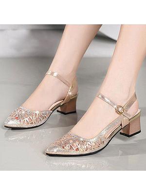 Ladies Summer High Heel Sandals
