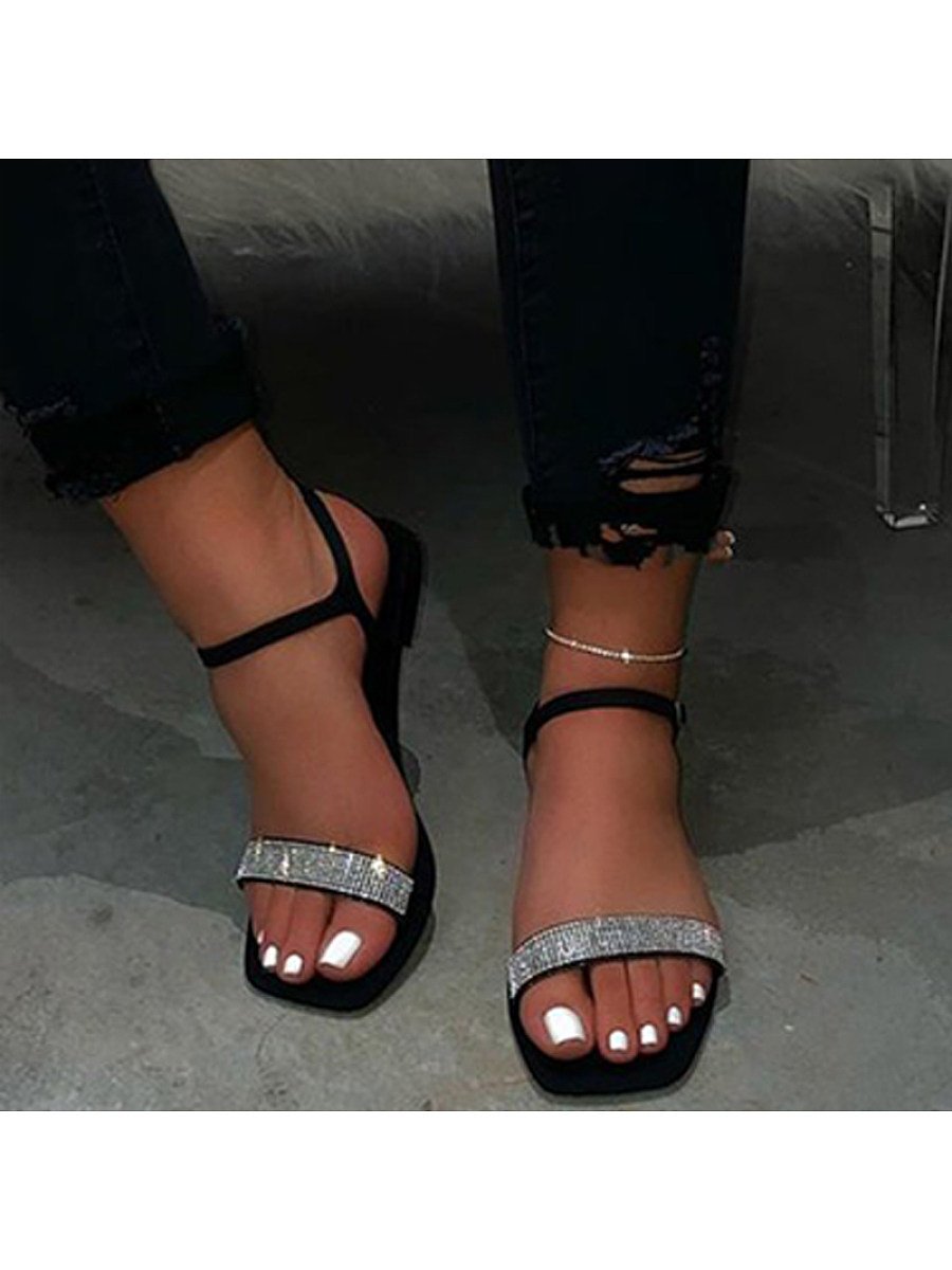 BerryLook Women's fashion flat sandals