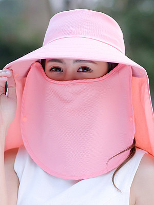 Face visor sun hat sun hat detachable Korean version of the bicycle anti-ultraviolet beach hat фото