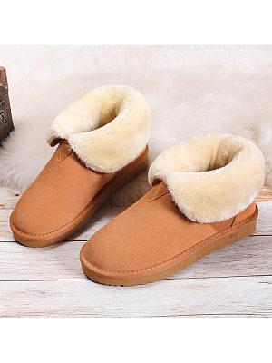 Fashion wild thick warm cotton shoes, 9872322