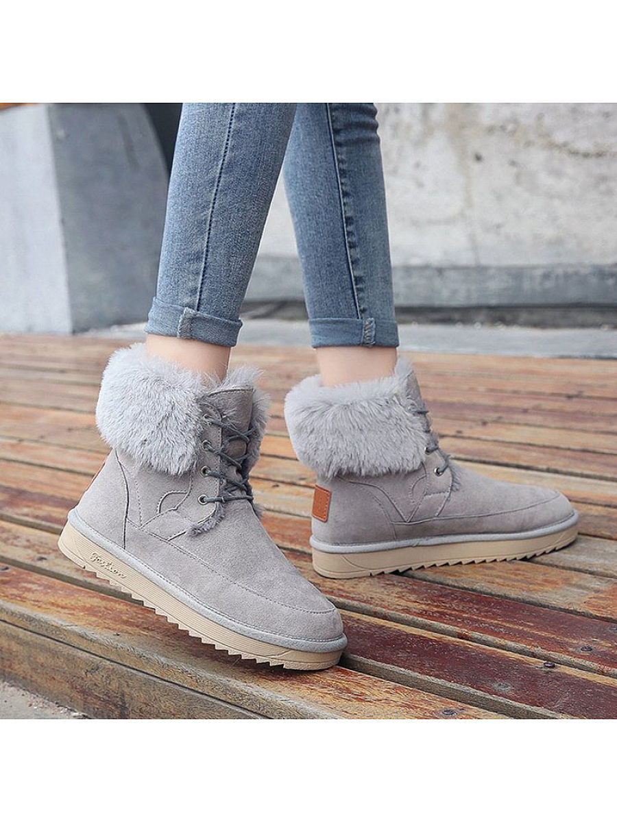 Women's tube non-slip cotton boots - from $29.95