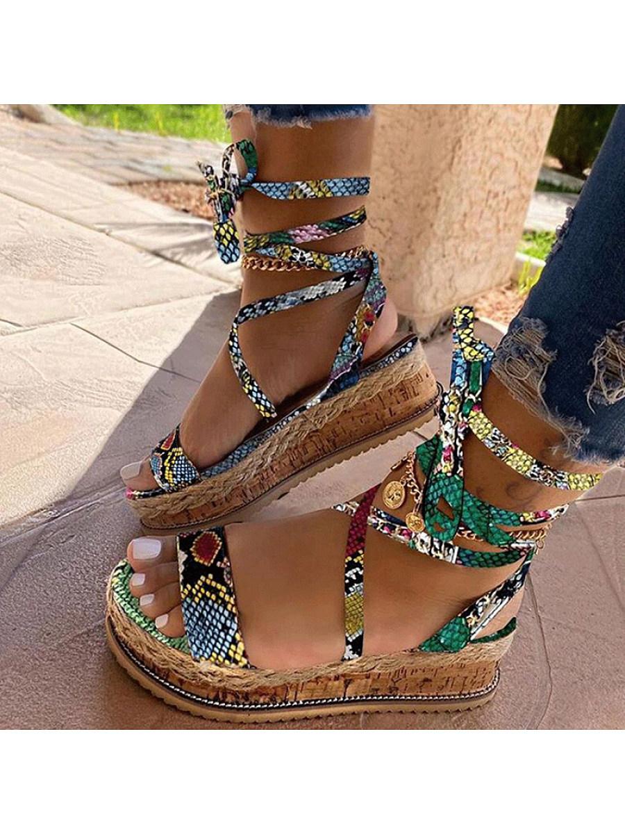 Women's Platform Sole Sandals