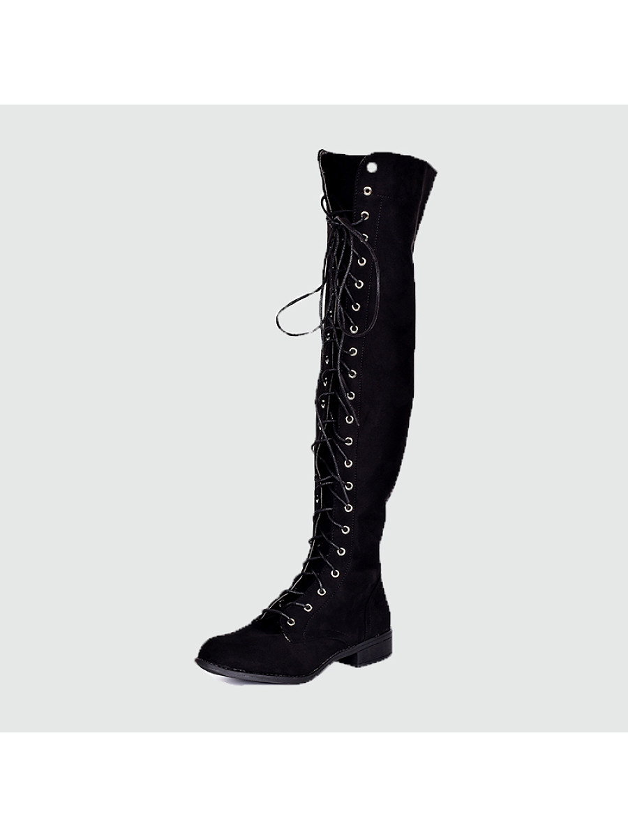 Women's shoes with long knee boots - from $28.95