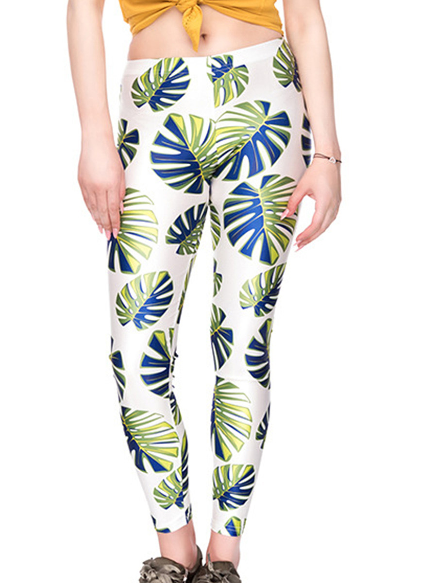 BerryLook Fashion slim stretch print leggings