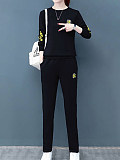 Image of Long Sleeve Sports And Leisure Suit Women Autumn And Winter Two-piece Suit